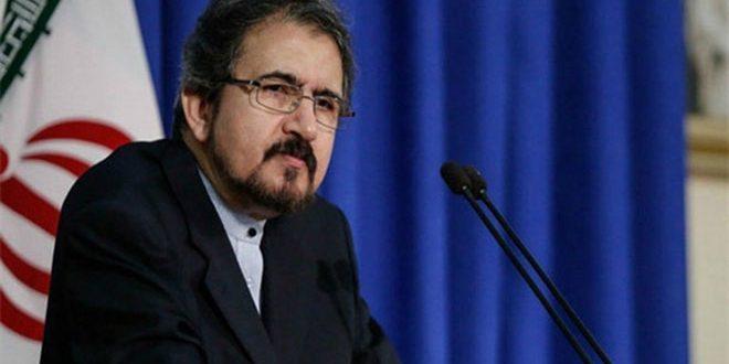 Teherán: fuerzas extranjeras presentes en Siria sin permiso del Gobierno deben salir