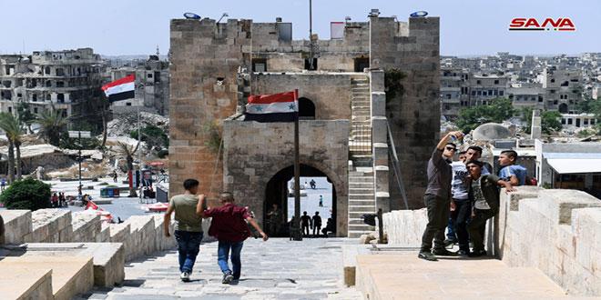 La Ciudadela de Alepo abre sus puertas para los visitantes