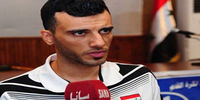 Entrevista con el jugador de la selección siria de fútbol Omar Alsumah