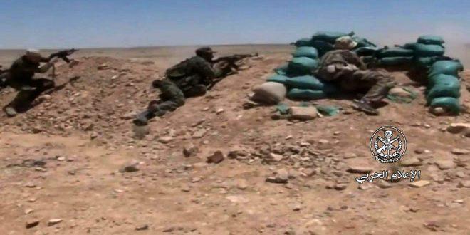 Operaciones anti-terroristas en el campo de Deir Ezzor