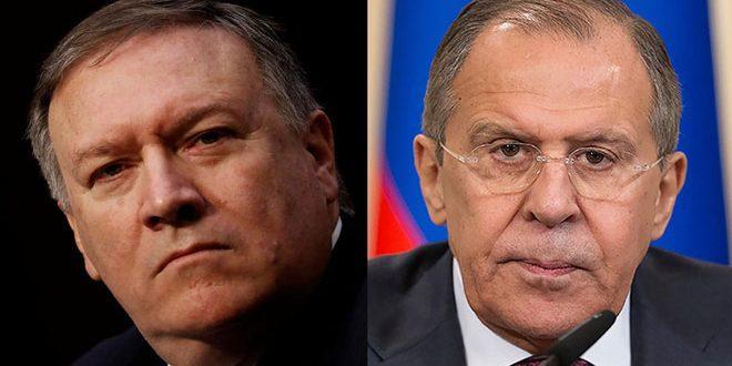 Lavrov y Pompeo abordan las vías de solucionar la crisis en Siria