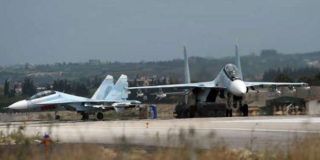 Derribado un avión dron cerca de la base aérea rusa en Latakia