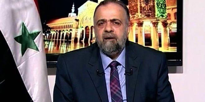 Ministro de Awqaf: se le privó a los sirios de efectuar la peregrinación por injusta decisión del régimen saudita