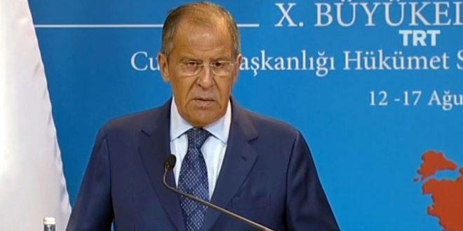 Lavrov: ejército sirio tiene derecho a eliminar todas manifestaciones del terrorismo