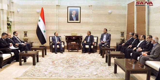 Alto funcionario iraní ratifica apoyo económico de Irán a Siria