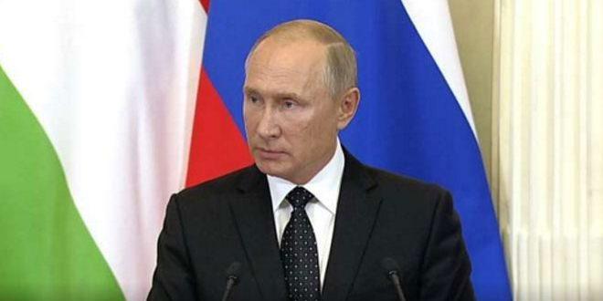 Putín: Rusia tomará medidas para afianzar seguridad de sus fuerzas en Siria