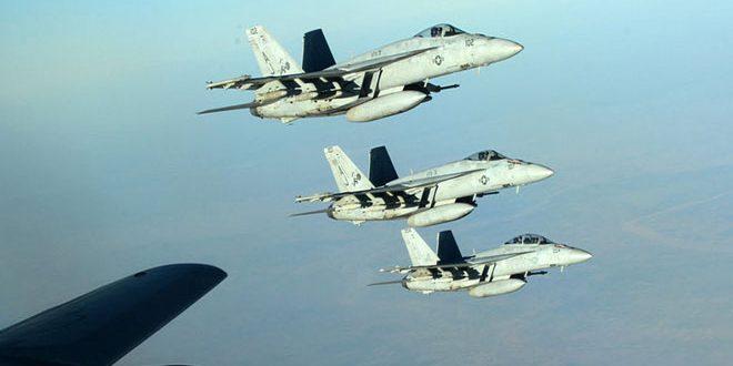 """62 civiles caen mártires y decenas resultan heridos en una agresión aérea de la """"Coalición"""" estadounidense"""