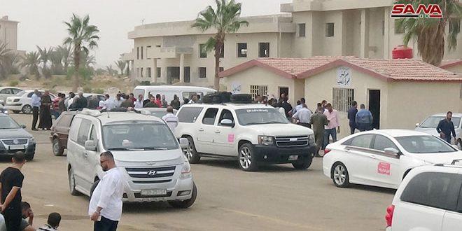 Regularizar las situaciones de los autos sirios atrapados en Jordania