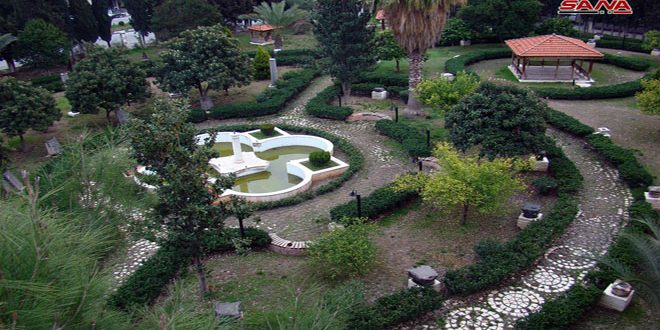 Parque del Museo de Hama acoge antigüedades de gran valor arqueológico y patrimonial