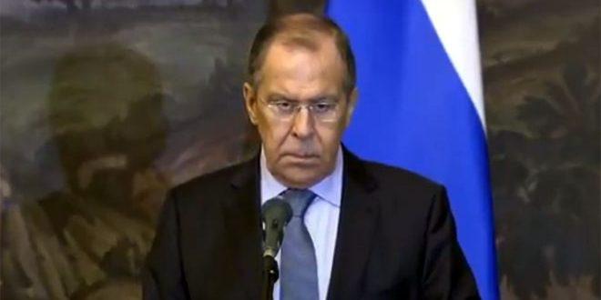 Lavrov: la lucha contra el terrorismo en Siria es incesante