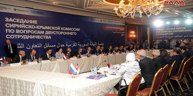 Presidente de Crimea inicia visita a Siria y sostiene conversaciones para impulsar la cooperación comercial y económica