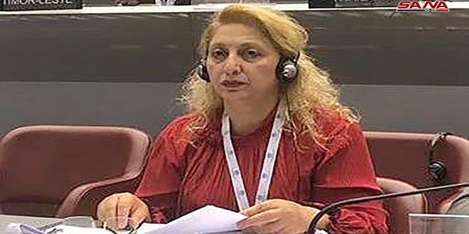 Siria participa en un taller de trabajo en Ginebra sobre la convención de SEDAW