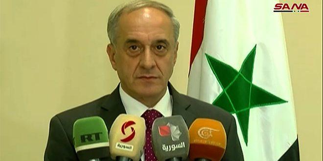 Declaración del vicecanciller sobre reapertura del cruce de Nassib
