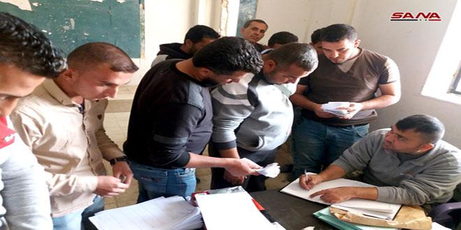 Indultados decenas de armados que se entregaron al ejército en Quneitra