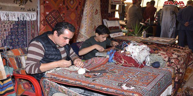 La industrial artesanal en Alepo continua su brillante