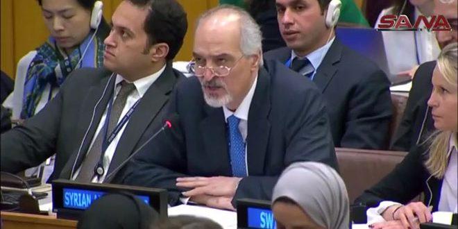 Al-Jaafari: las autoridades saudíes son una mera fachada detrás de la cual se esconden los países hostiles a Siria