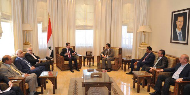 Siria y Jordania abordan vías de impulsar cooperación en materia jurídica, gasífera y turística