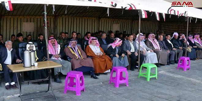 Pobladores de Deraa celebran victorias del ejército sirio sobre el terrorismo