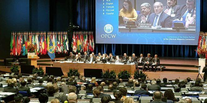 Mikdad: Occidente politiza la labor de la OPAQ