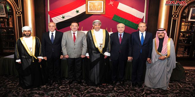 Embajada de Omán en Damasco organiza recepción por el 48 aniversario del Día Nacional de Omán