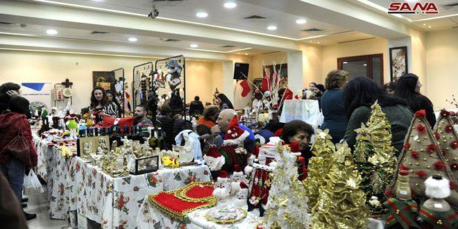 Bazares de Navidad y año nuevo en Siria…un ámbito de alegría