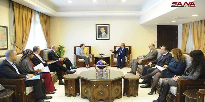 Siria y la UNICEF examinan cooperación bilateral