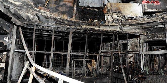 Mueren siete niños a consecuencia de un incendio en Damasco