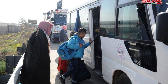 Más refugiados sirios retornan al país procedentes de Jordania