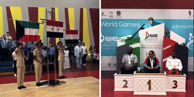 Siria gana la medalla de oro en la competencia de bádminton en silla de ruedas en el Campeonato IWAS