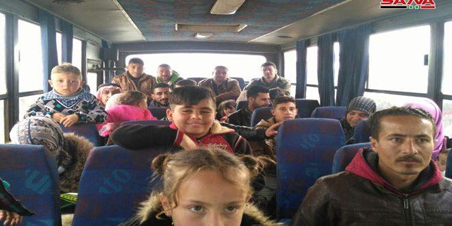 Sirios desplazados regresan de Jordania a sus hogares