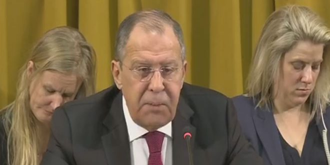 Lavrov lamenta que Occidente esté ignorando el uso de armas químicas por los terroristas en Siria