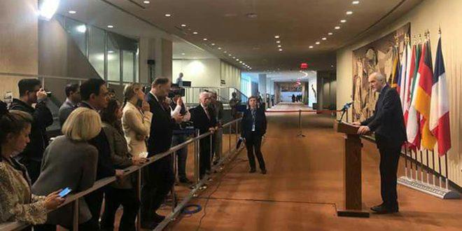 Al Jaafari: Declaraciones de Trump no cambiarán la realidad de que el Golán ocupado es un territorio sirio