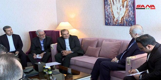 Delegaciones de Siria e Irán sostienen una reunión en el marco de las conversaciones de Astaná