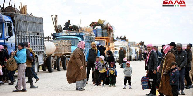 Más de cuatro mil desplazados logran salir del campamento Rukban