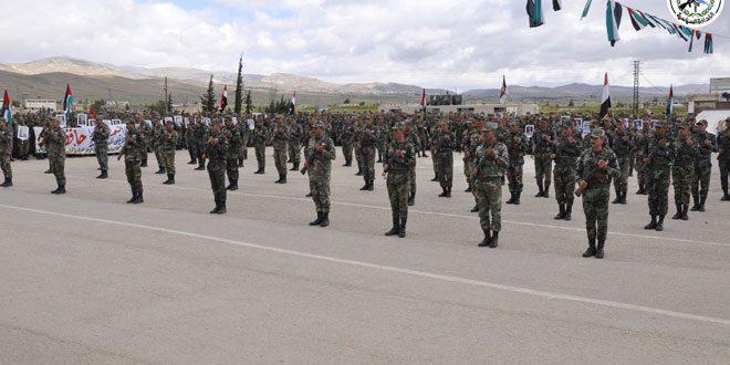 Fuerzas Armadas Sirias celebran el 73 aniversario de la Indepedencia de la Patria