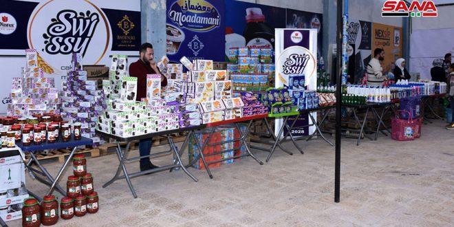 Con la participación de 500 empresas, inauguración de la 2ª Feria Internacional de Alepo
