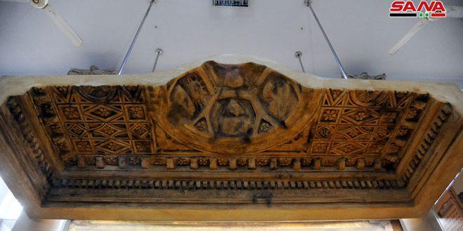 Museo de Damasco recibe réplica de una parte del altar del templo Bel de Palmira