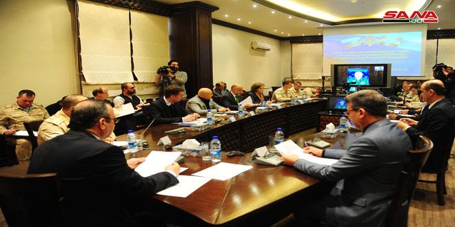 Los Comités de Coordinación sirio-rusos: 4 mil desplazados sirios salen del campamento de Rukban
