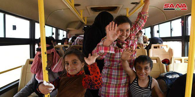 Decenas de familias logran escaparse del Campamento Rukban