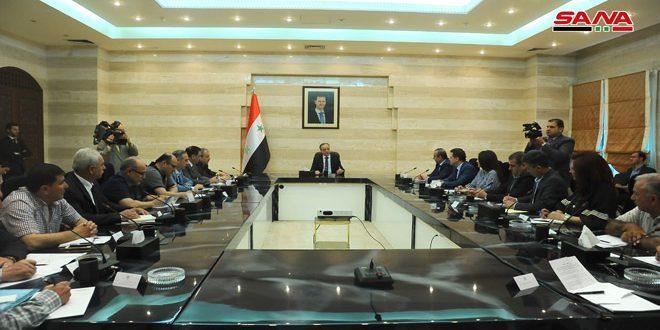 Medidas gubernamentales para contrarrestar el efecto de las sanciones y avanzar en la reconstrucción del país