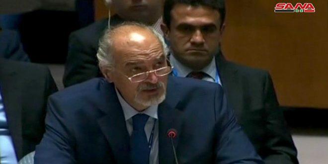 Jaafari: Siria sigue luchando contra el terrorismo y la ocupación extranjera