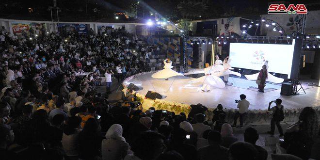 """Se inauguró el festival """"Cham nos Une"""" en Damasco"""