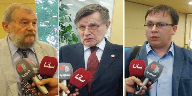Expertos rusos: La Feria Internacional de Damasco…un evento importante en Oriente Medio