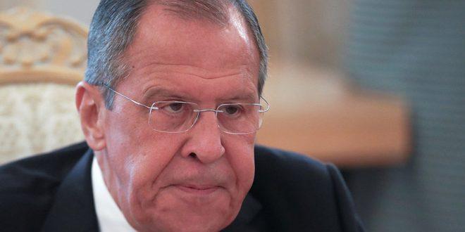 Lavrov: No se puede tolerar la presencia de decenas de miles de terroristas en Idleb