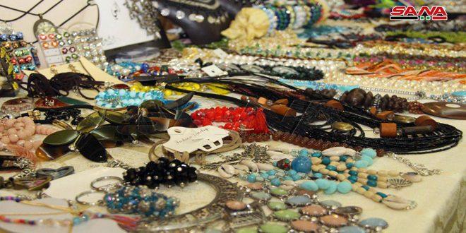 Cuarenta mujeres comercializan sus productos a través de Alepo Expo