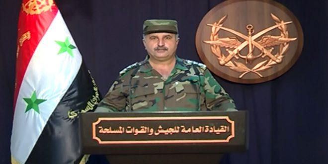 Comando General del Ejército: depurada la ciudad de Khan Sheijún y un número de poblados y colinas dominantes