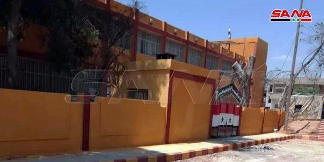 Culminan obras de mantenimiento de 14 escuelas en Hassakeh afectadas por el terrorismo