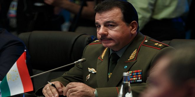 Ministro de Defensa de Tayikistán elogia la colaboración entre el ejército sirio y las fuerzas aeroespaciales rusas