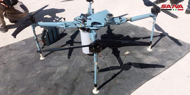 Ejército neutraliza dron armado con bombas de racimo en la ladera del monte Hermón