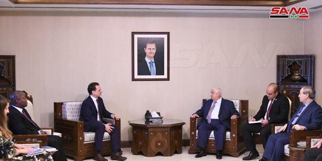 Siria reitera apoyo a UNRWA y palestinos